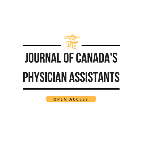 View Vol. 1 No. 1 (2018): Journal of Canada's Physician Assistants: The Start